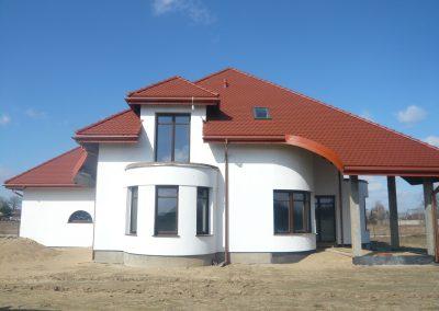 Domy w budowie